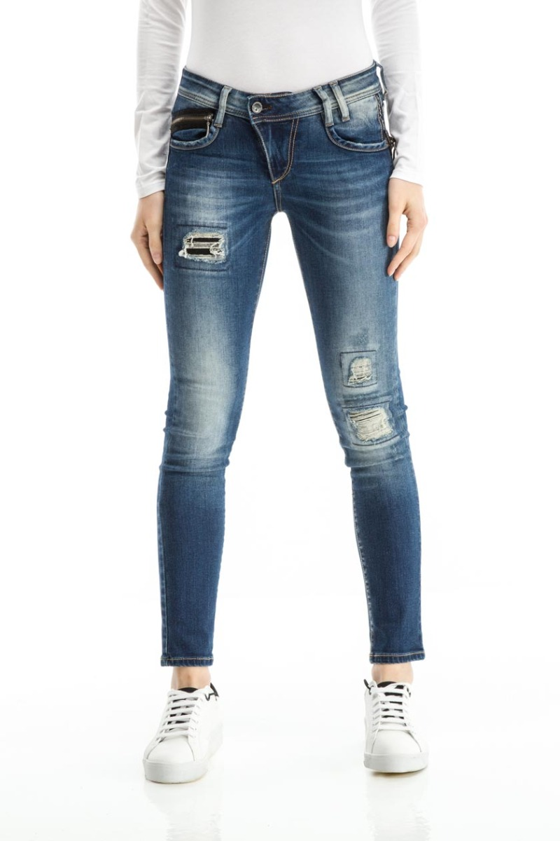 LILO-DISTRESSED JEANS