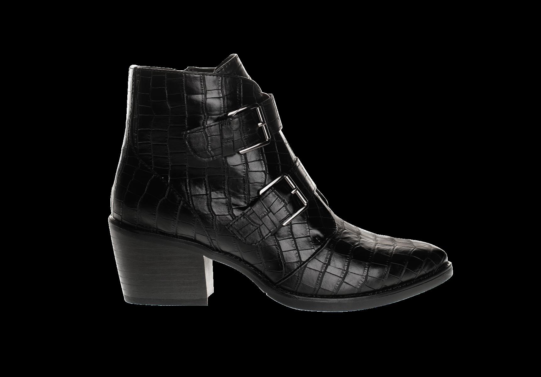 VB95016 ANKLE BOOTS, BLACK