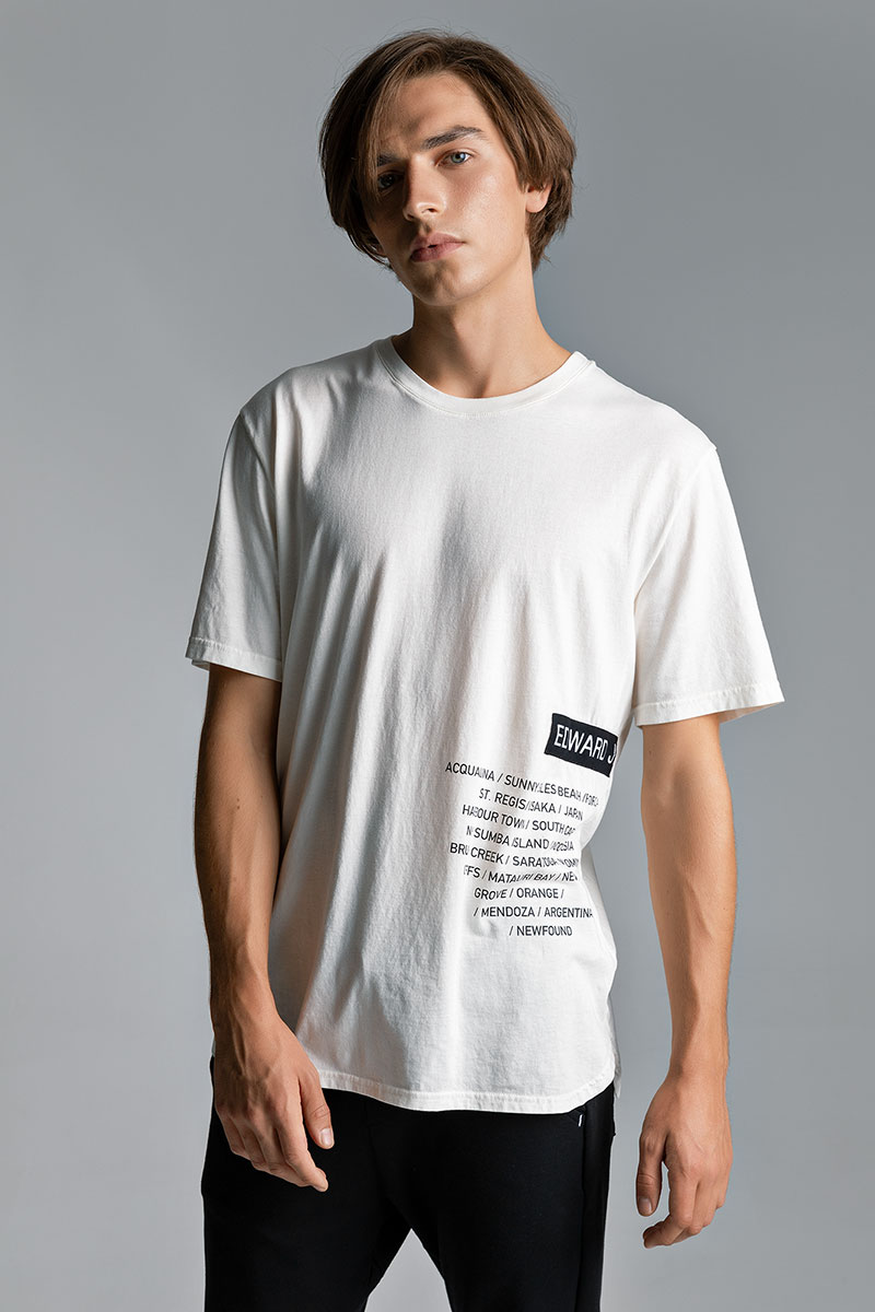 SCARE TSHIRT, OFF WHITE