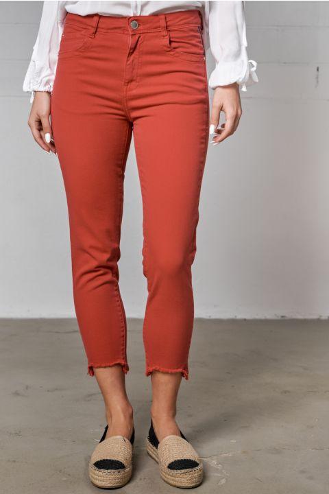 BIANA-AR PANTS, RED