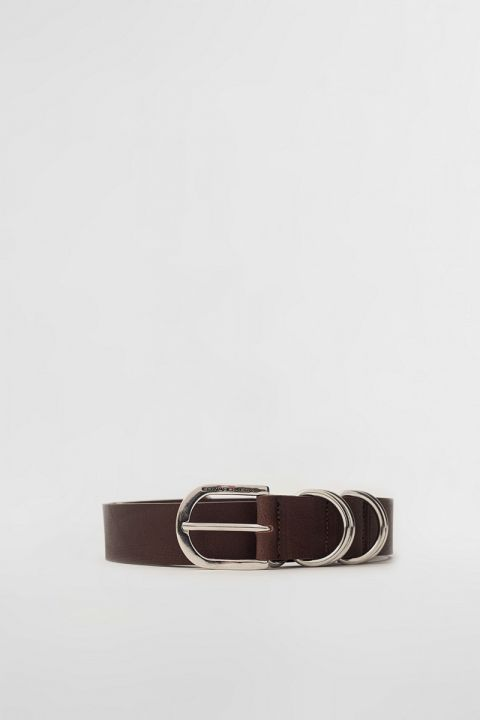 EW005 BELT, BITTER BROWN