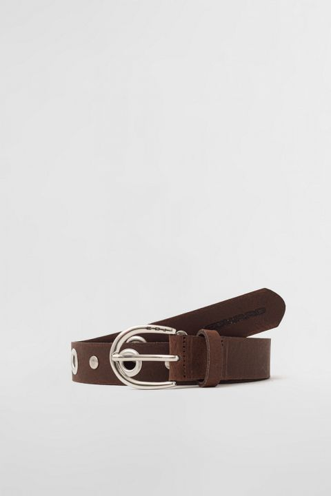 EW004 BELT, BITTER BROWN