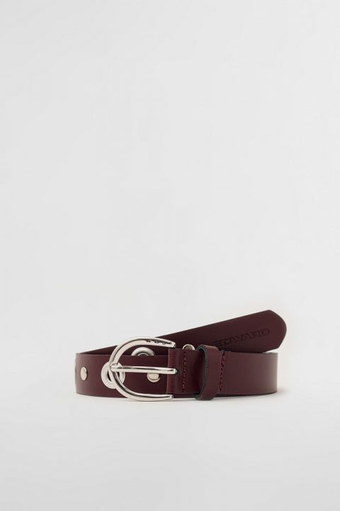 EW004 BELT, BORDEAUX
