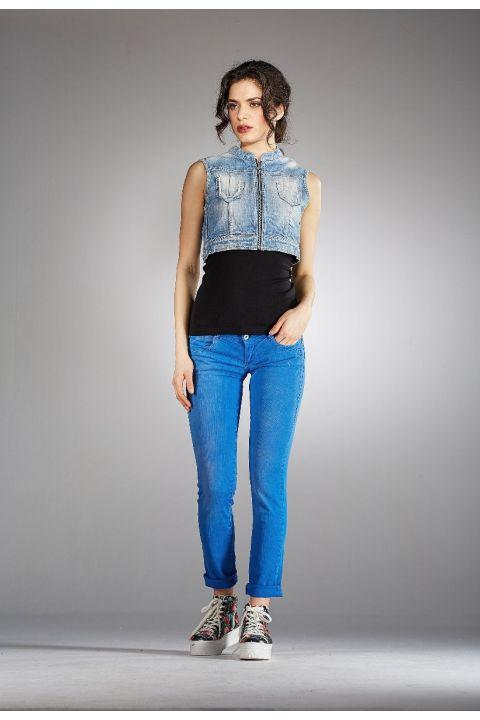 FELISA-JAM PANTS, ROYAL BLUE