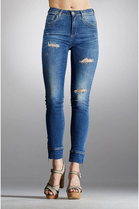 AGOSTA-043 JEANS, BLUE