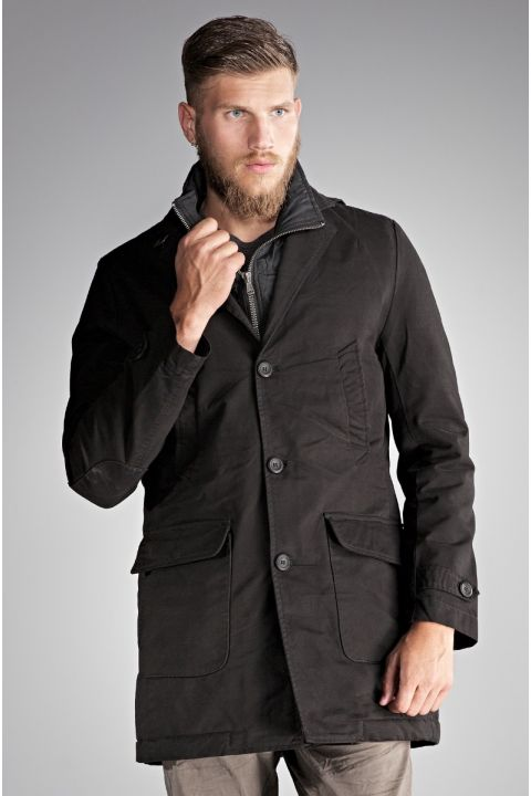 LANGSTON JACKET, BLACK