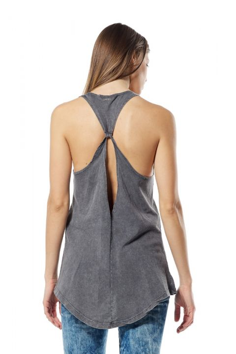 CAREN TOP, GRAY