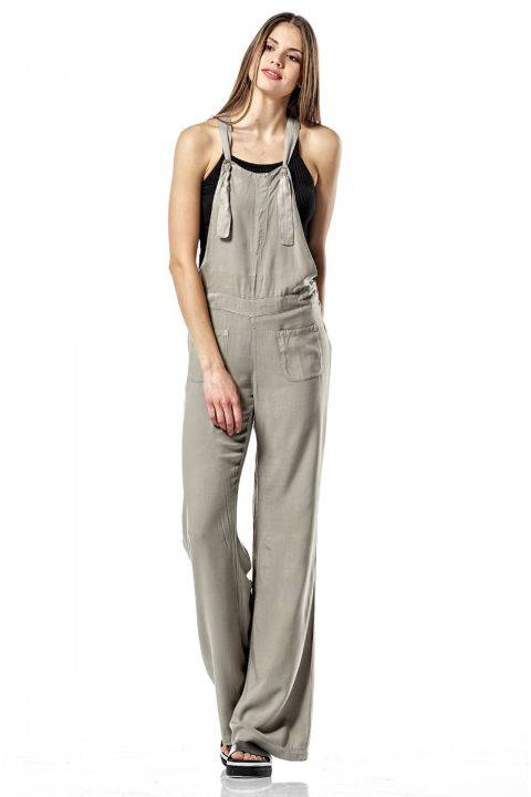 CASEY-17 DENIM JUMPSUIT, MUD