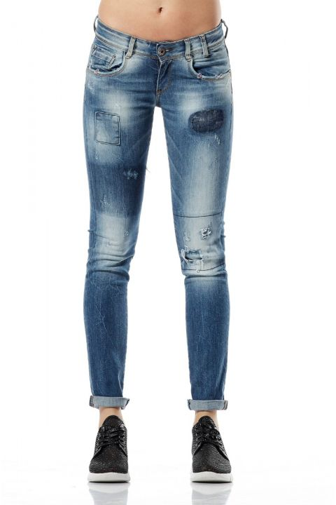 STORY-17 JEANS, BLUE