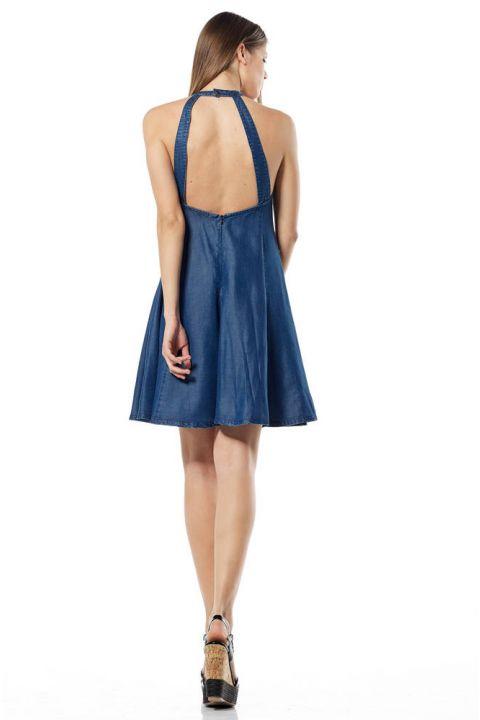 PALESA-OR DENIM DRESS