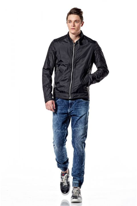 HERRIOT MENS JACKET, BLACK