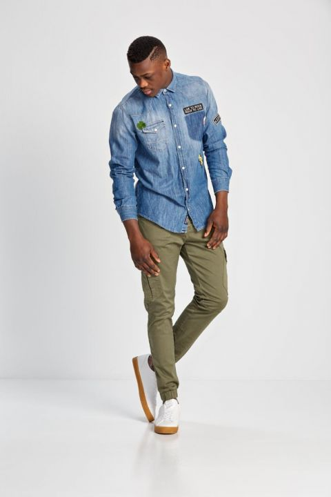 NAVAR DENIM SHIRT