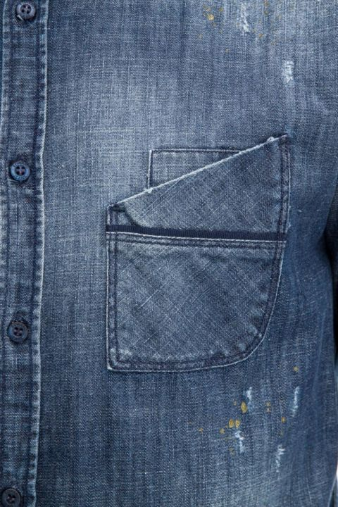 ANTIGIO-DS DENIM SHIRT