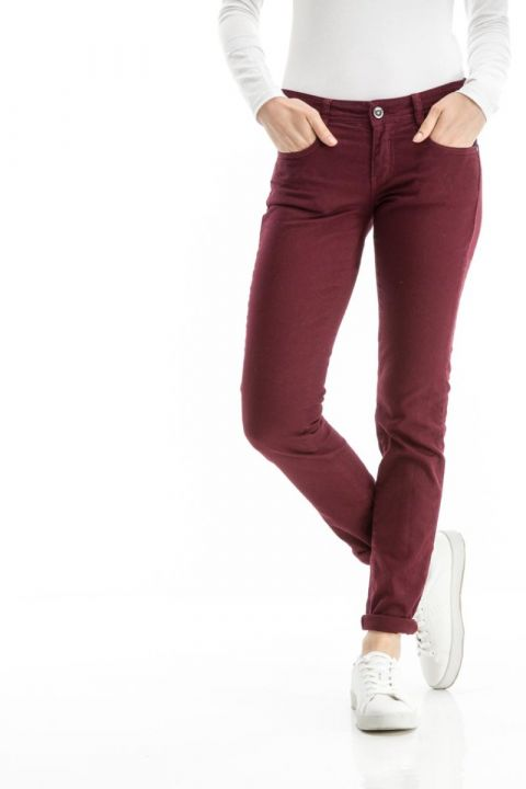 EDITA-AR PANTS MID RISE/SLIM FIT