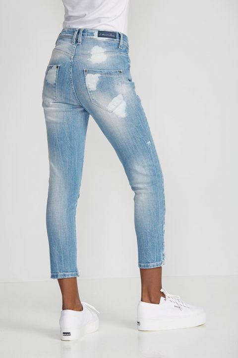 BIANA-CA PANTS, BLUE
