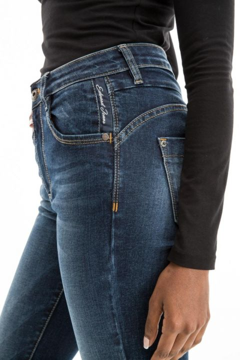 LETI-LE JEANS HIGH WAISTED/BELL BOTTOM
