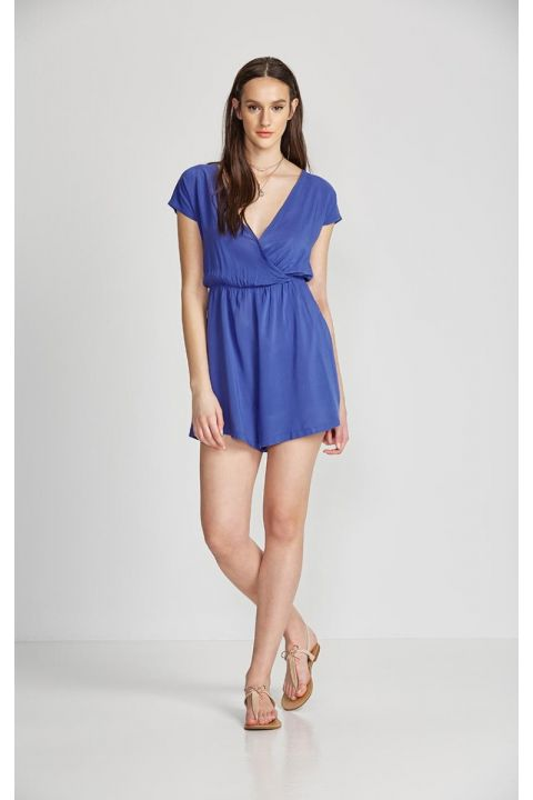 COOPER-VA PLAYSUIT, ROYAL BLUE