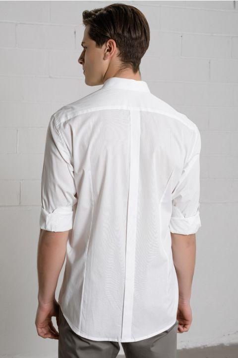 CLAUS-MIL SHIRT, WHITE
