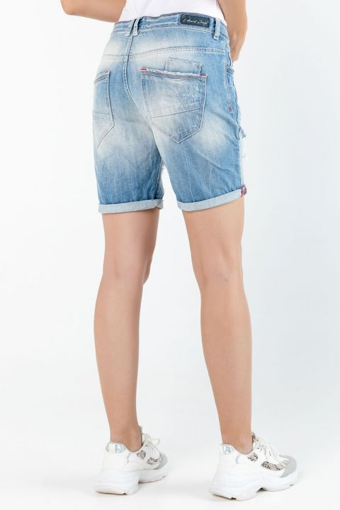 AMABELA-610 DENIM SHORTS