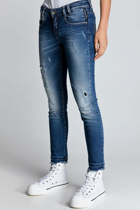 RONNIE-33 JEANS, BLUE