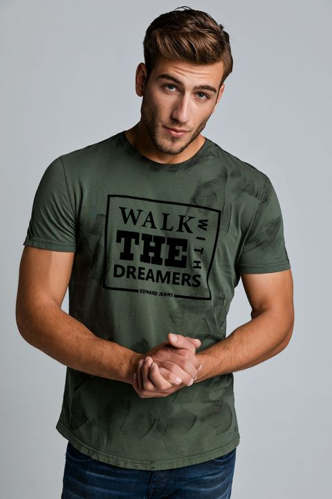 WALKS TSHIRT, ARMY