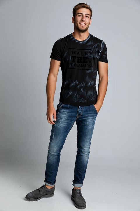 WALKS TSHIRT, BLACK