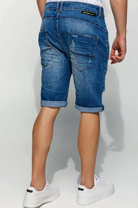 KATRIK-DS DENIM SHORTS, BLUE