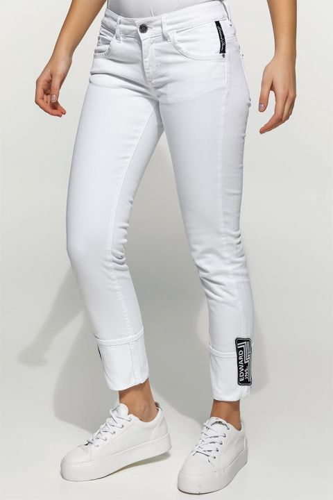 DONIER-RAM COL. JEANS, WHITE