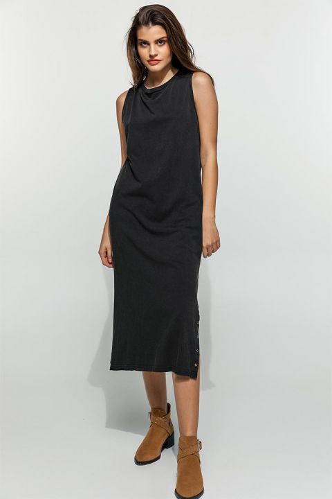 COLINA-J DRESS, BLACK