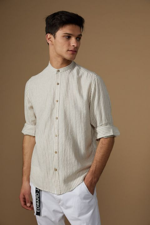 PAPY-VE SHIRT, BEIGE