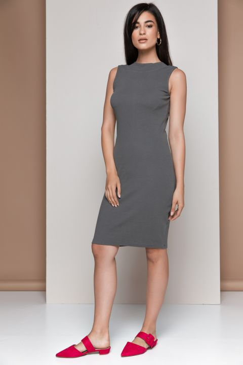 DIANE-1815 DRESS, ARMY