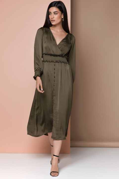 FG2026 ROMANTIC DRESS, ARMY
