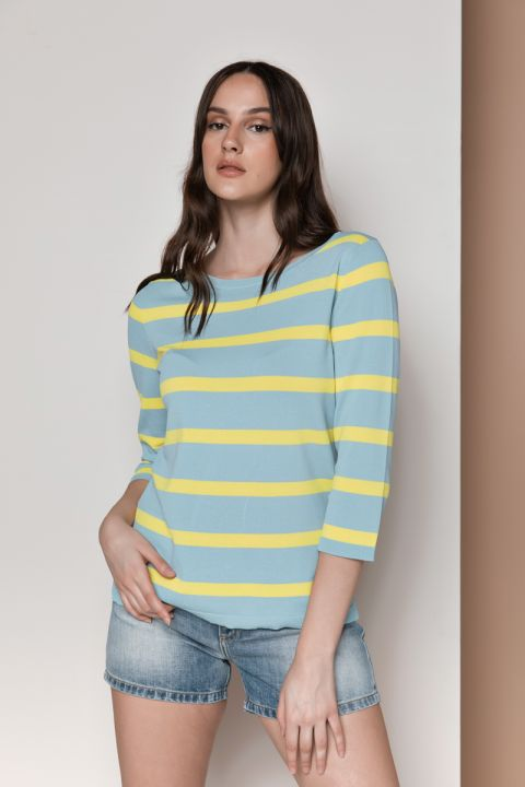 S218 STRIPPED TOP, BRITTANY