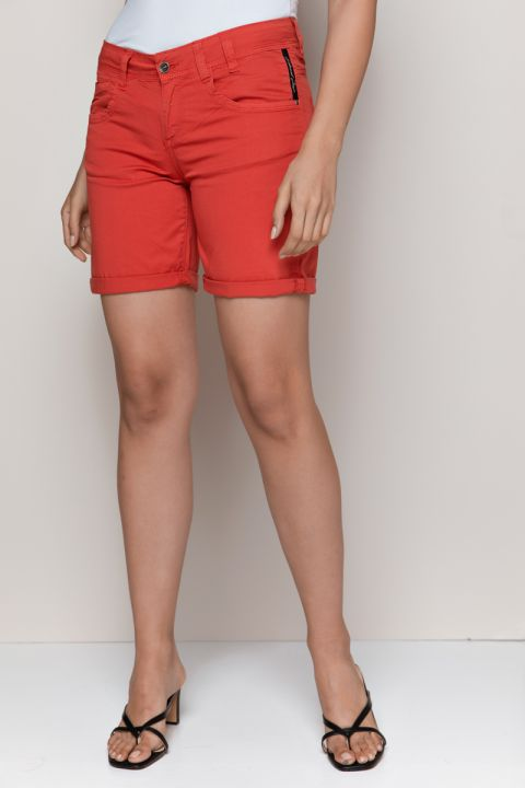MARGOT-C SHORTS, RED