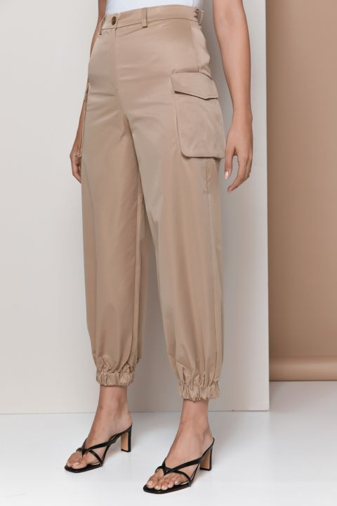 B6630 ARMY PANTS, BEIGE