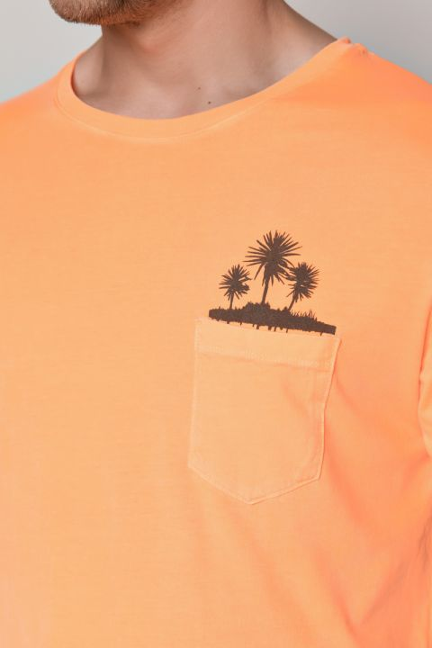 VENAL TSHIRT, FLUO ORANGE