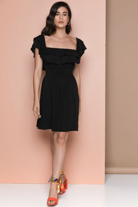 KASMIRA-J DRESS, BLACK