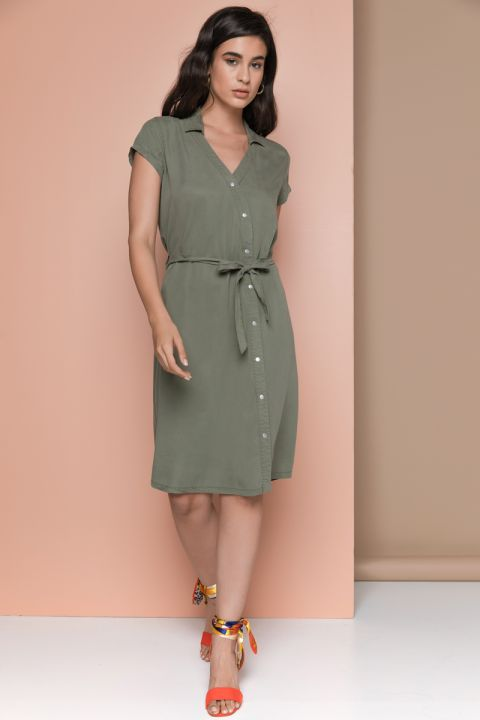 MIENA-OR DRESS, ARMY