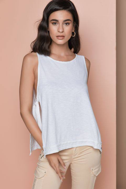KARLIE TOP, WHITE