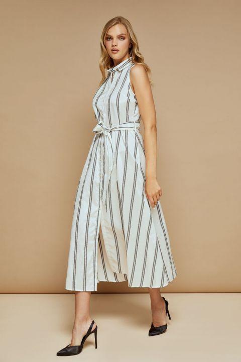 Alessia-C Dress, OFF WHITE
