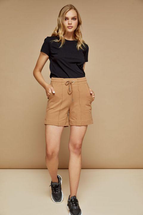 Bredda sweat shorts, ALMOND
