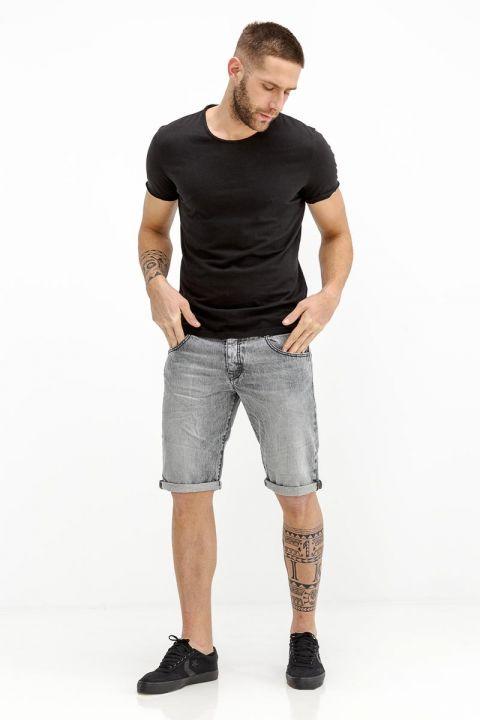 TEDDY-INOX DENIM SHORTS
