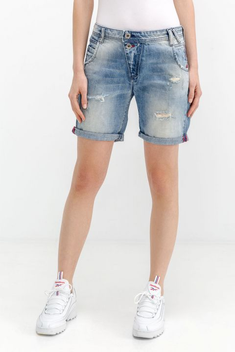 REINA-RO DENIM SHORTS