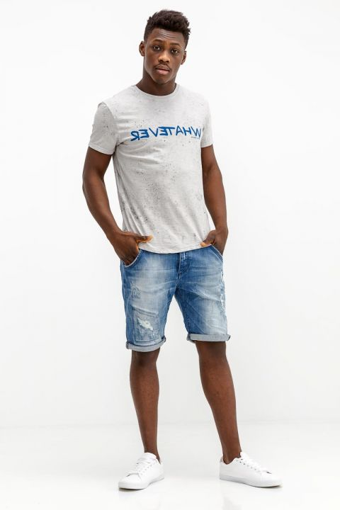 TORIAN-858 DENIM SHORTS