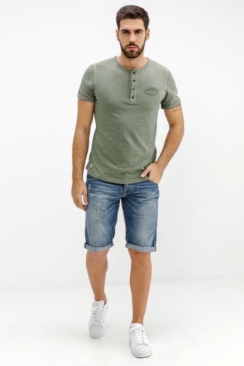 TEDDY-R DENIM SHORTS