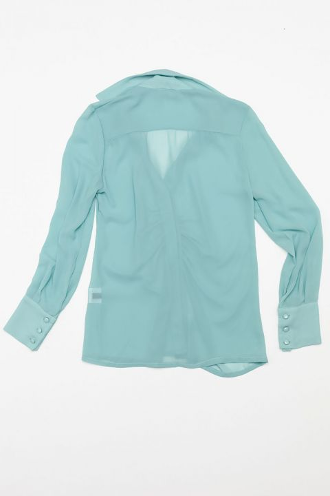 6788 ROMANTIC SHIRT, AQUA