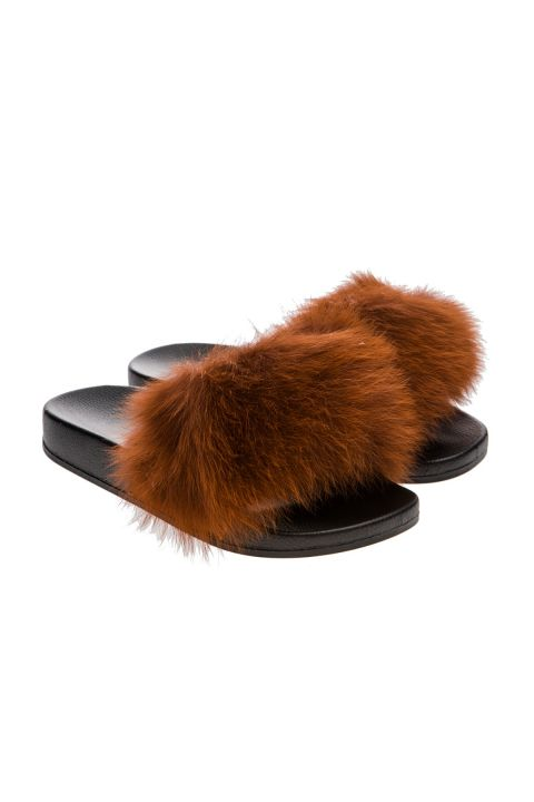 870/FL19  FURRY SLIPPERS