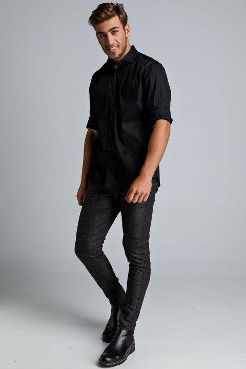CLAUS-MIL SHIRT, BLACK
