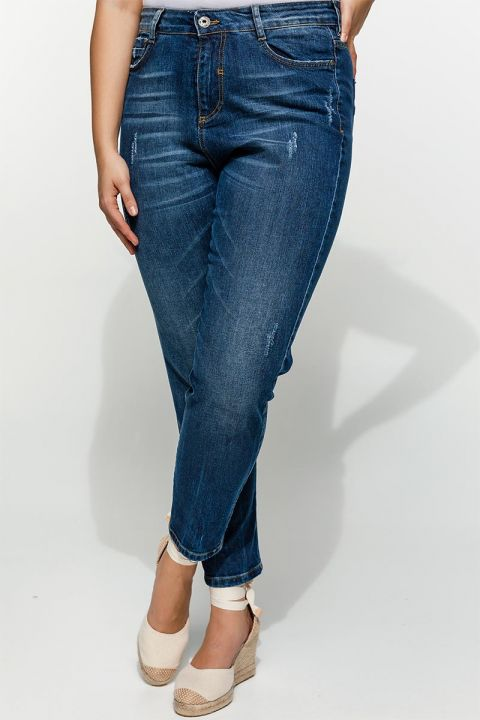 DANNA-PS19 JEANS 98%COT-2%EL, BLUE