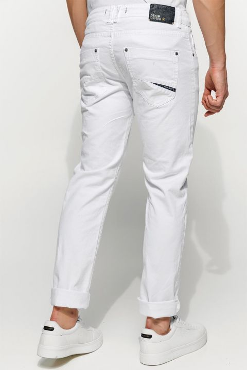 DU.SANTOS-AR PANTS, WHITE